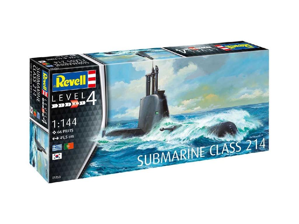1/144 Plastikový model - ponorka 05153 - Submarine Class 214