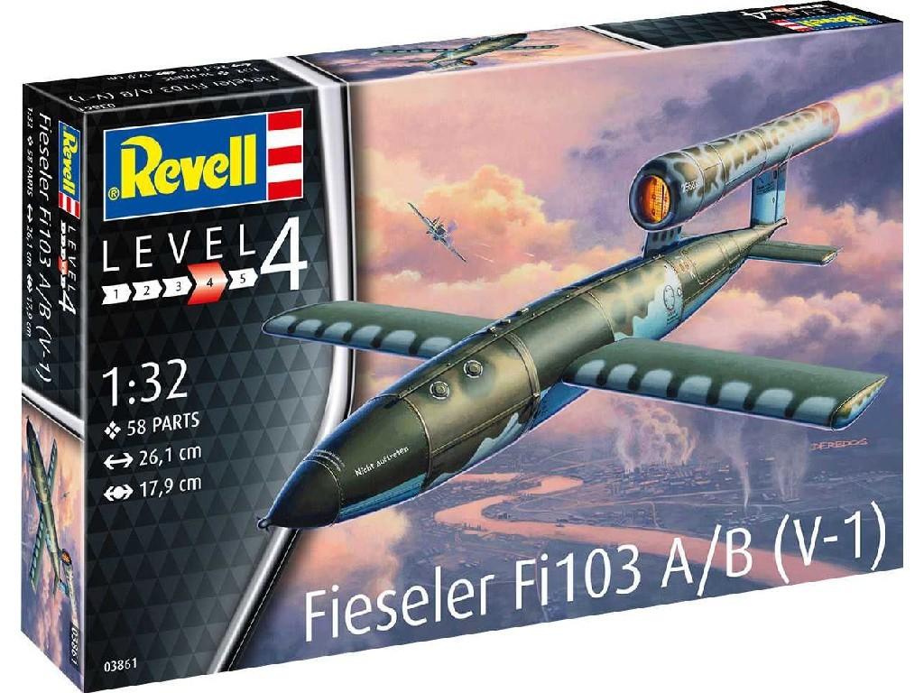 Plastic ModelKit raketa 03861 - Fieseler Fi103 A/B V-1 (1:32)