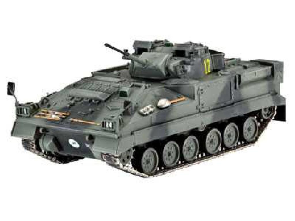 1/72 Plastikový model - tank 03128 - Warrior MCV