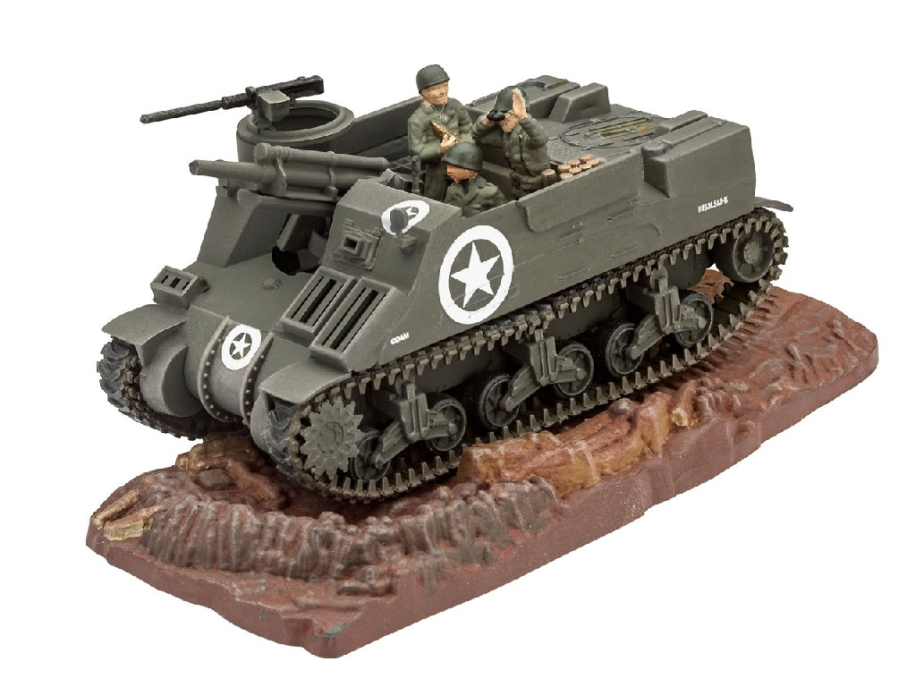 1/76 Plastikový model - tank 03216 - M7 HMC Priest