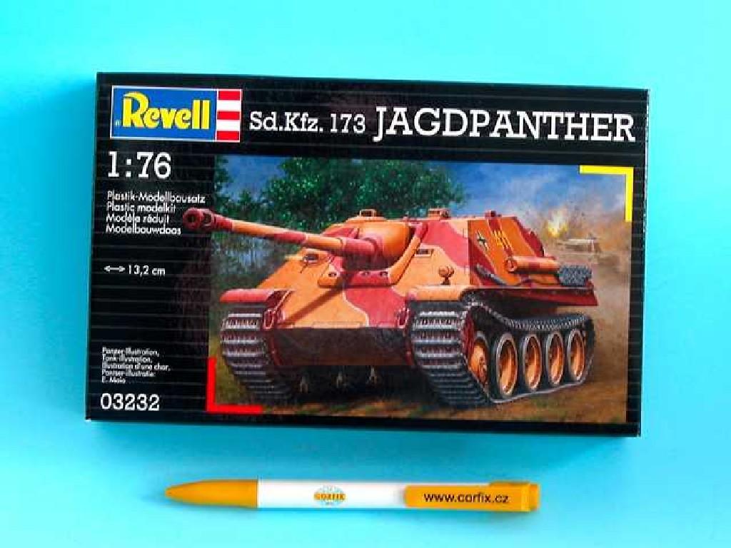 1/76 Plastikový model - tank 03232 - Jagdpanther