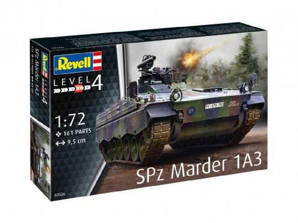 1/72 Plastikový model - tank 03326 - SPz Marder 1A3