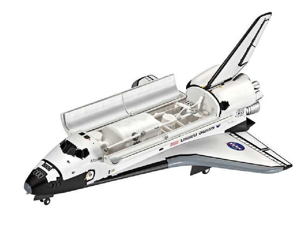 1/144 Plastikový model - vesmír 04544 - Space Shuttle Atlantis