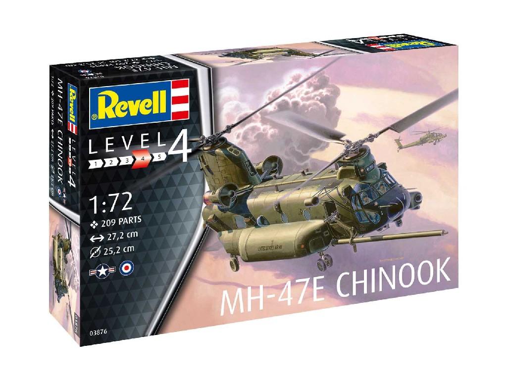 1/72 Plastikový model - vrtuľník 03876 - MH-47 Chinook