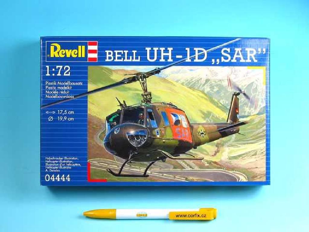 1/72 Plastikový model - vrtuľník 04444 - Bell UH-1D SAR
