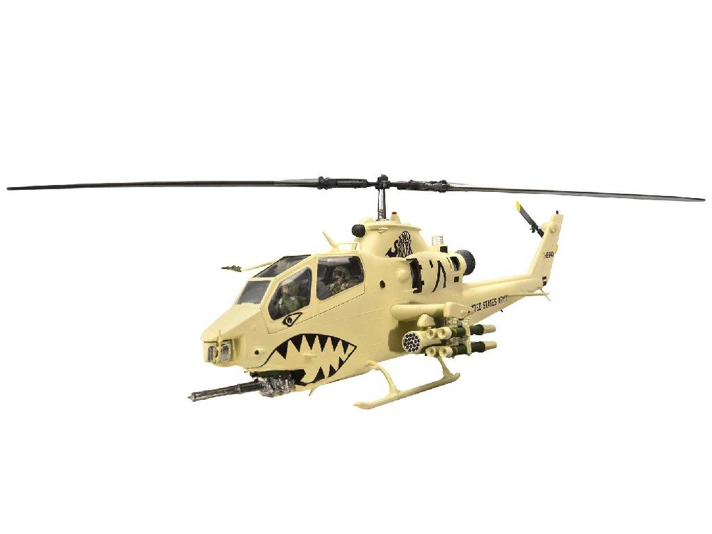 1/48 Plastikový model - vrtuľník 04646 - AH-1F Cobra