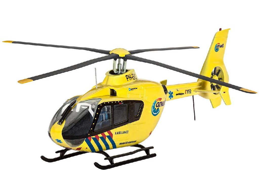 1/72 Plastikový model - vrtulník 04939 - EC135 Nederlandse Trauma Helicopter
