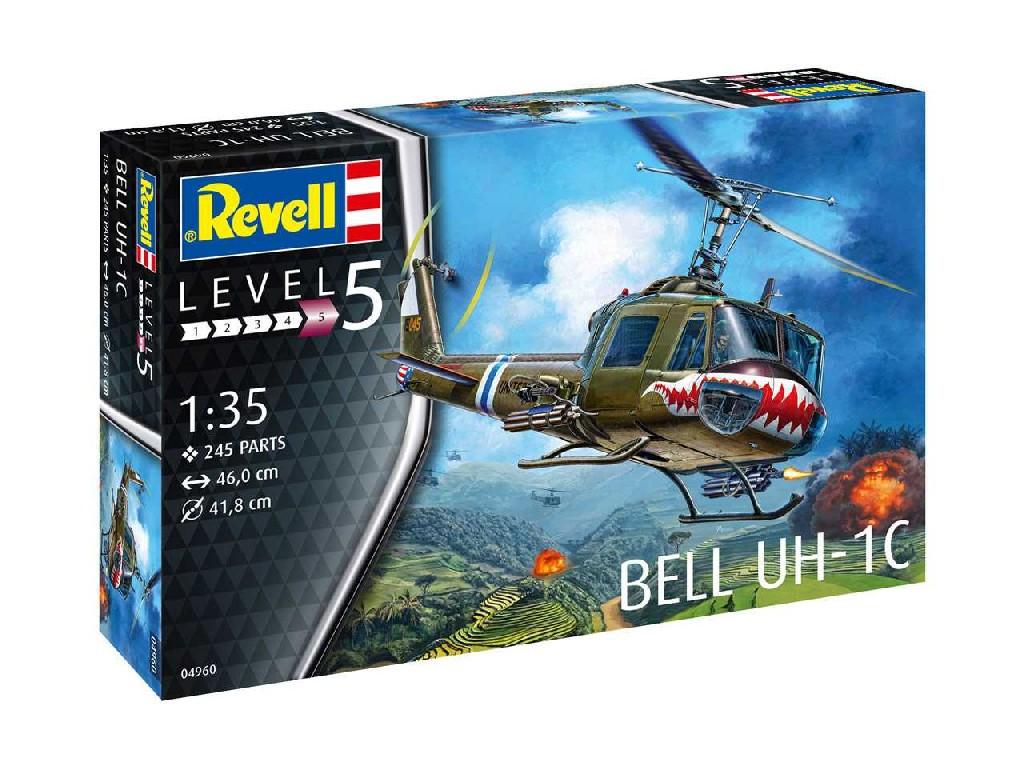 1/35 Plastikový model - vrtuľník 04960 - Bell UH-1C