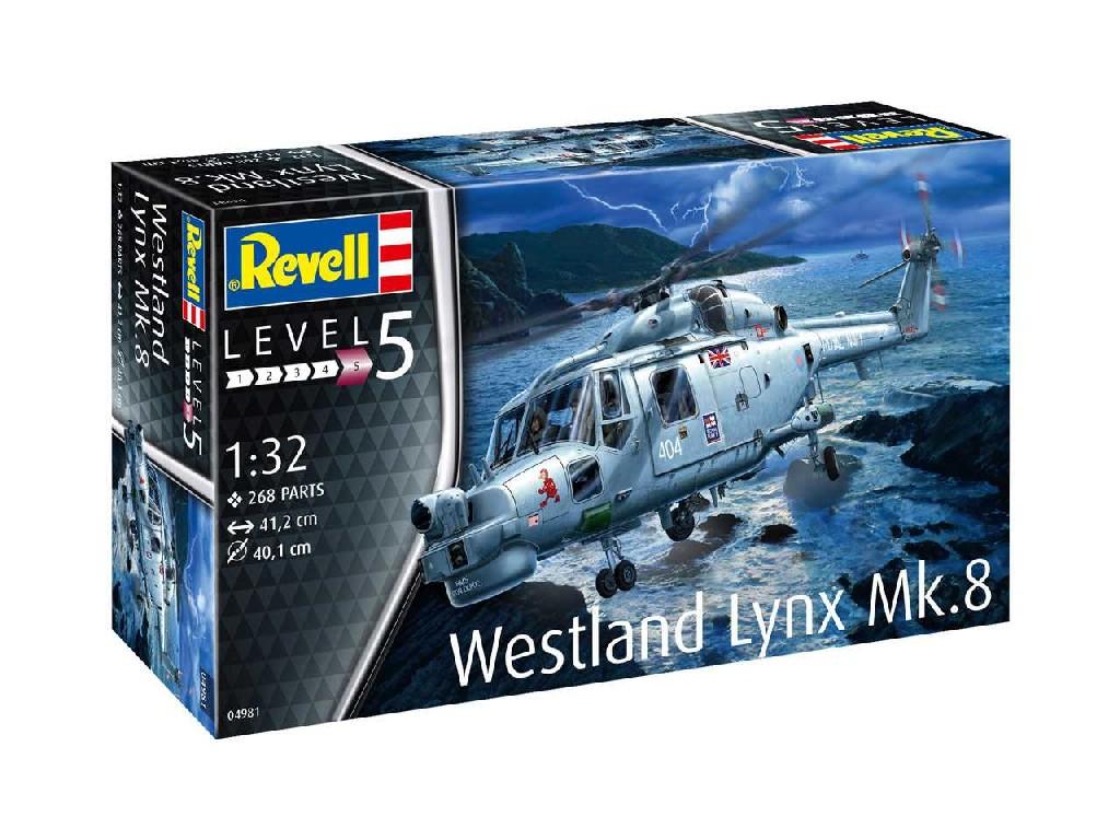 1/32 Plastikový model - vrtuľník 04981 - Westland Lynx Mk. 8