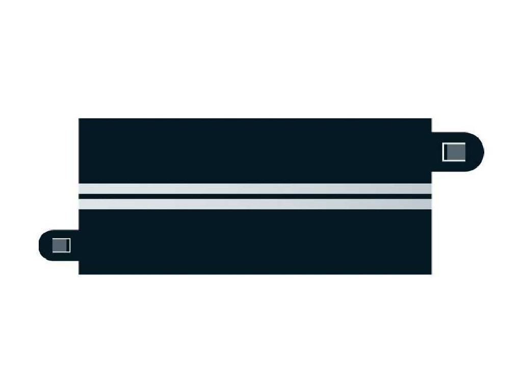 Příslušenství SCALEXTRIC C7016 - Single Lane (half straight x 4)
