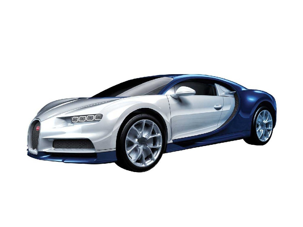 Quick Build auto J6044 - Bugatti Chiron