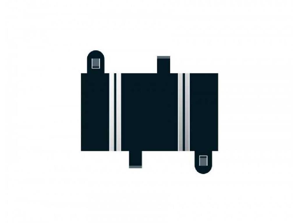 Rozšíření Trati Scalextric C8200 - Quarter Straight 87 mm (2)