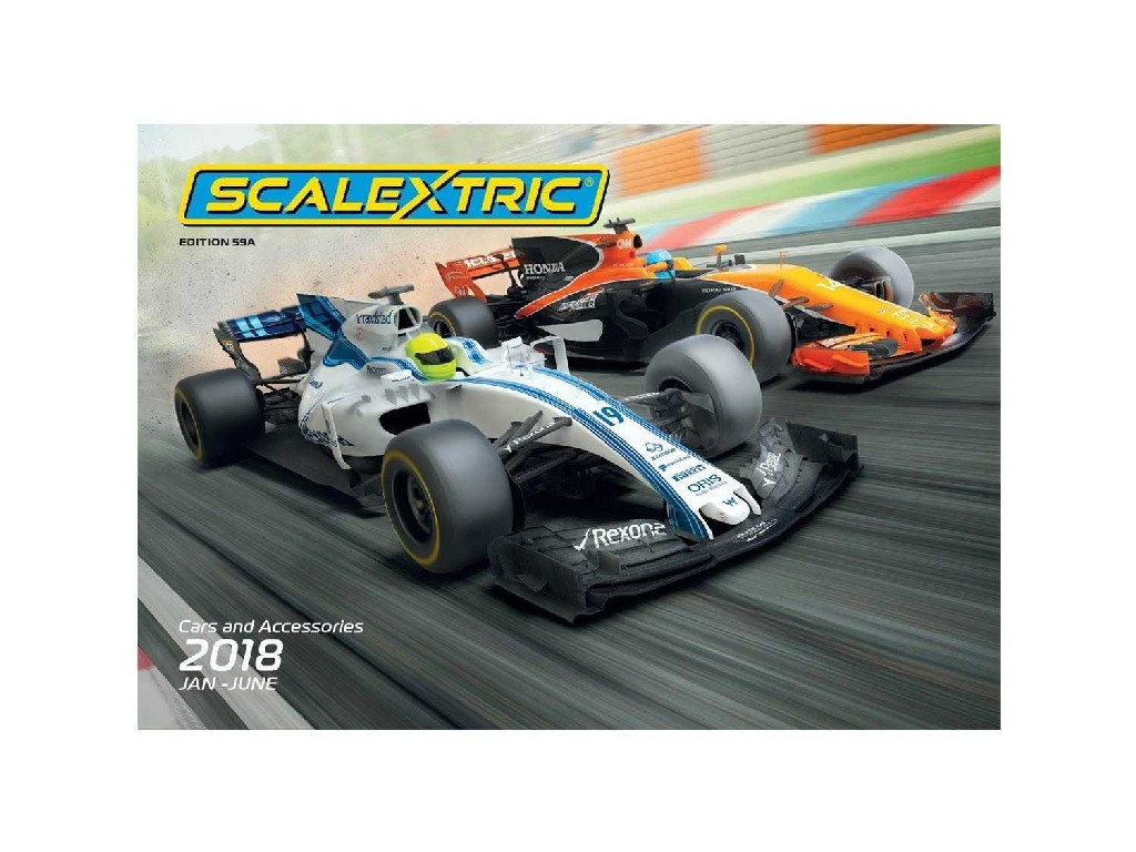Katalog - Scalextric 2018 (Jan - Jun)
