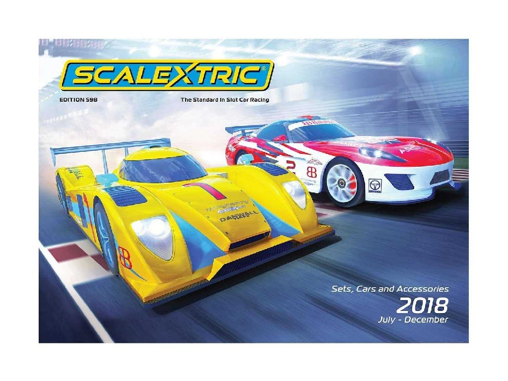 SCALEXTRIC katalog 2018 (Jul - Dec)