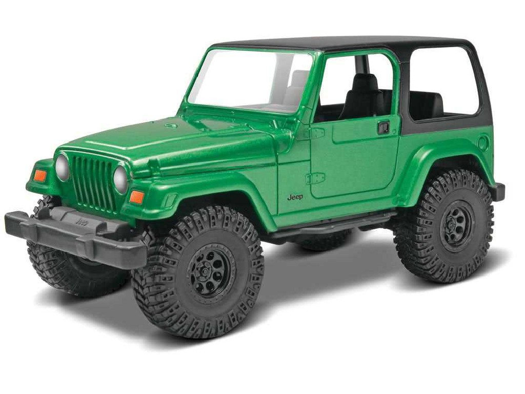 1/25 Snap Kit Build and Play MONOGRAM auto 1695 - Jeep® Wrangler Rubicon