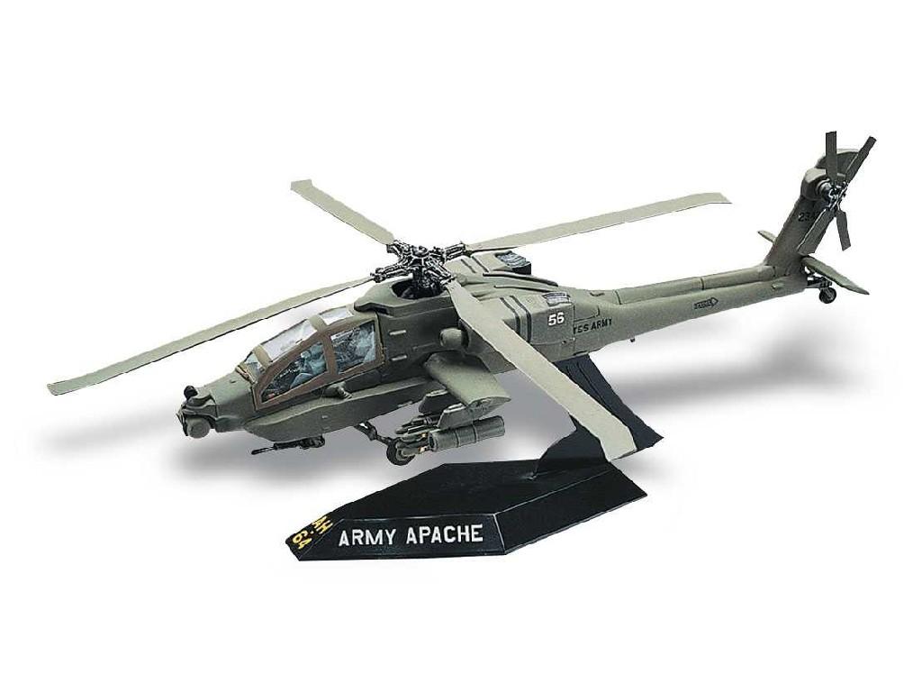 1/72 Snap Kit MONOGRAM vrtulník 1183 - AH-64 Apache Helicopter