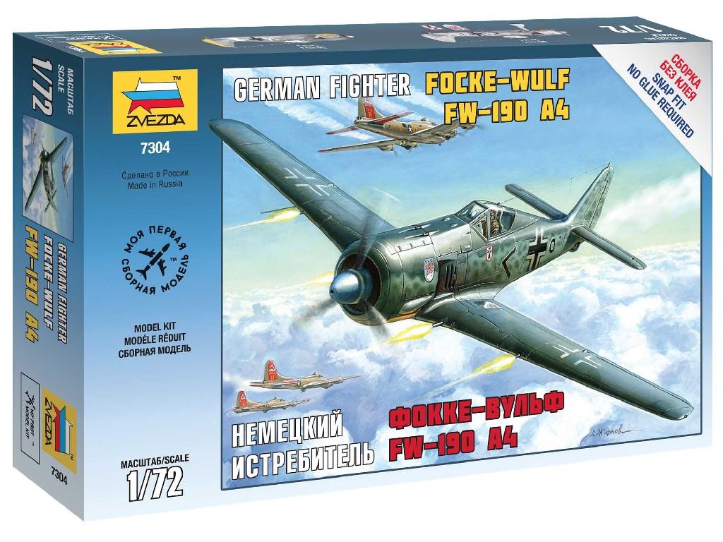 1/72 Snap Kit letadlo 7304 - FockeWulf 190 A4
