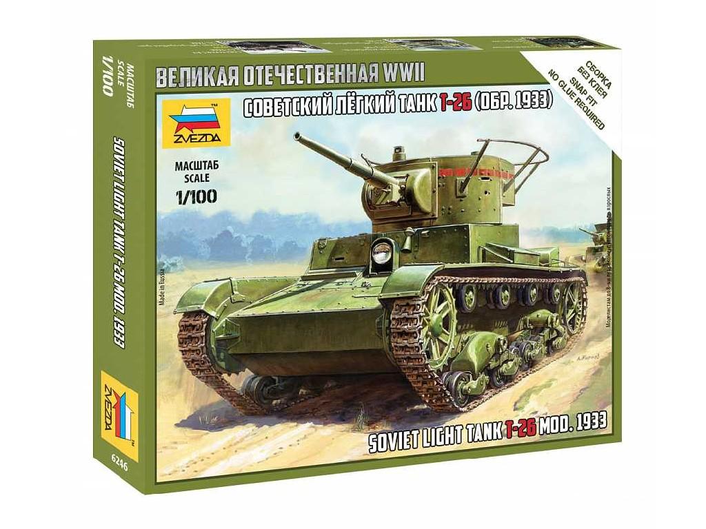 1/100 Snap Kit military 6246 - T-26 mod.1933