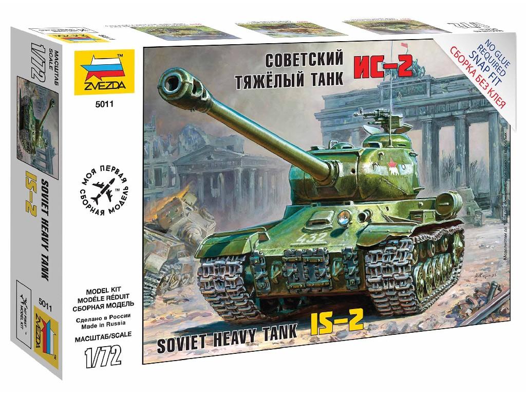 1/72 Snap Kit tank 5011 - IS-2 Stalin