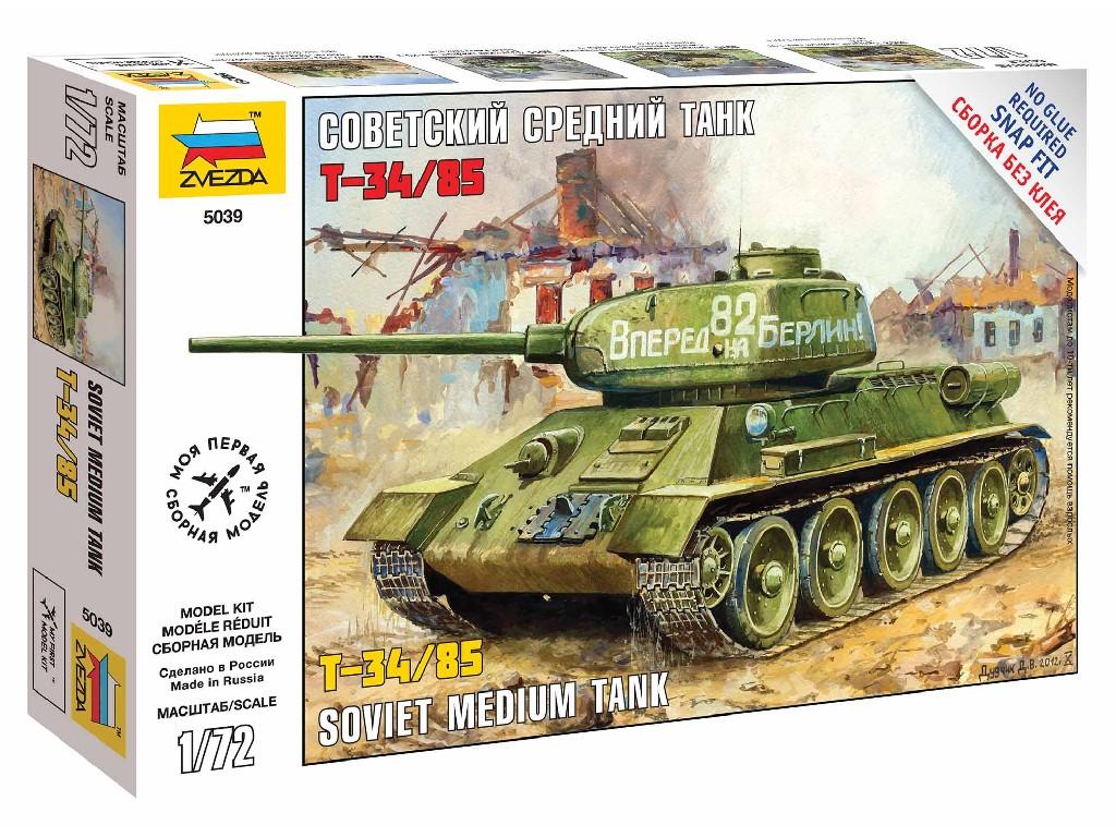 1/72 Snap Kit tank 5039 - T-34/85
