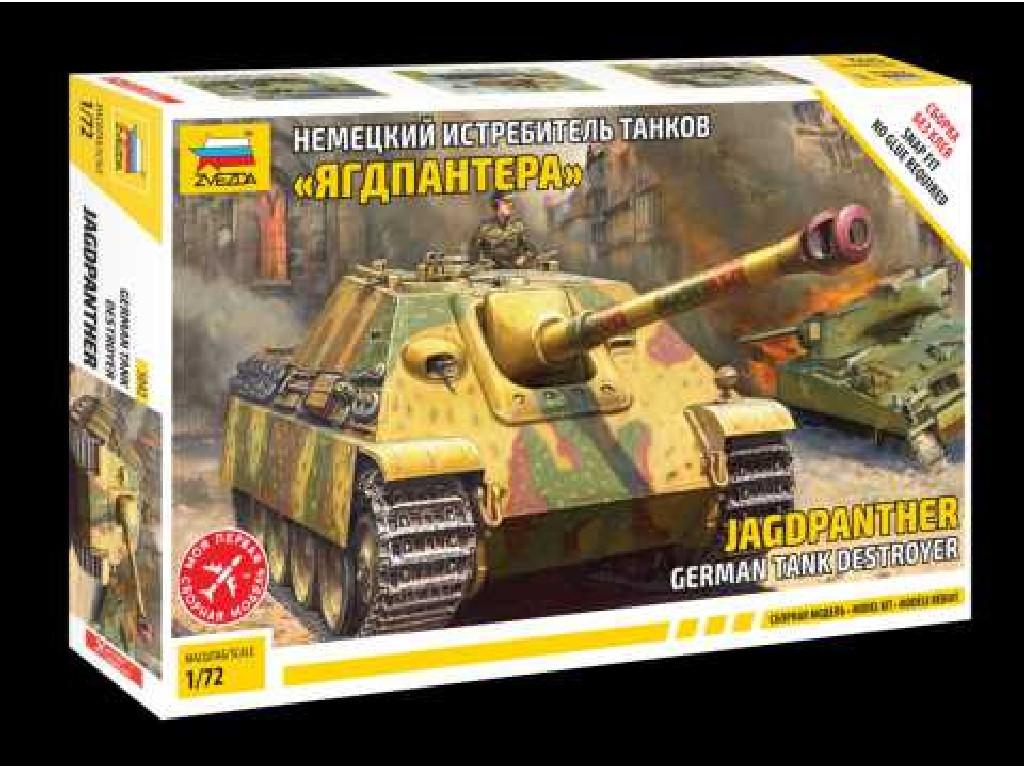 1/72 Snap Kit tank 5042 - German and Jagdpantherand