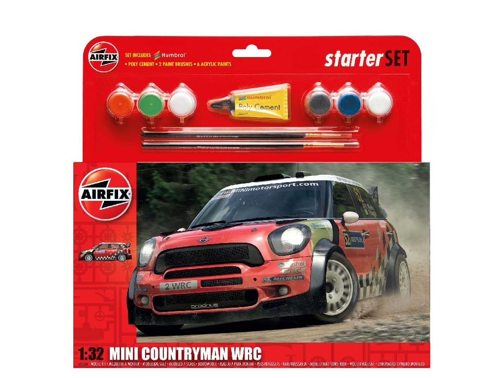 1/32 Starter Set auto A55304 - Mini Countryman WRC