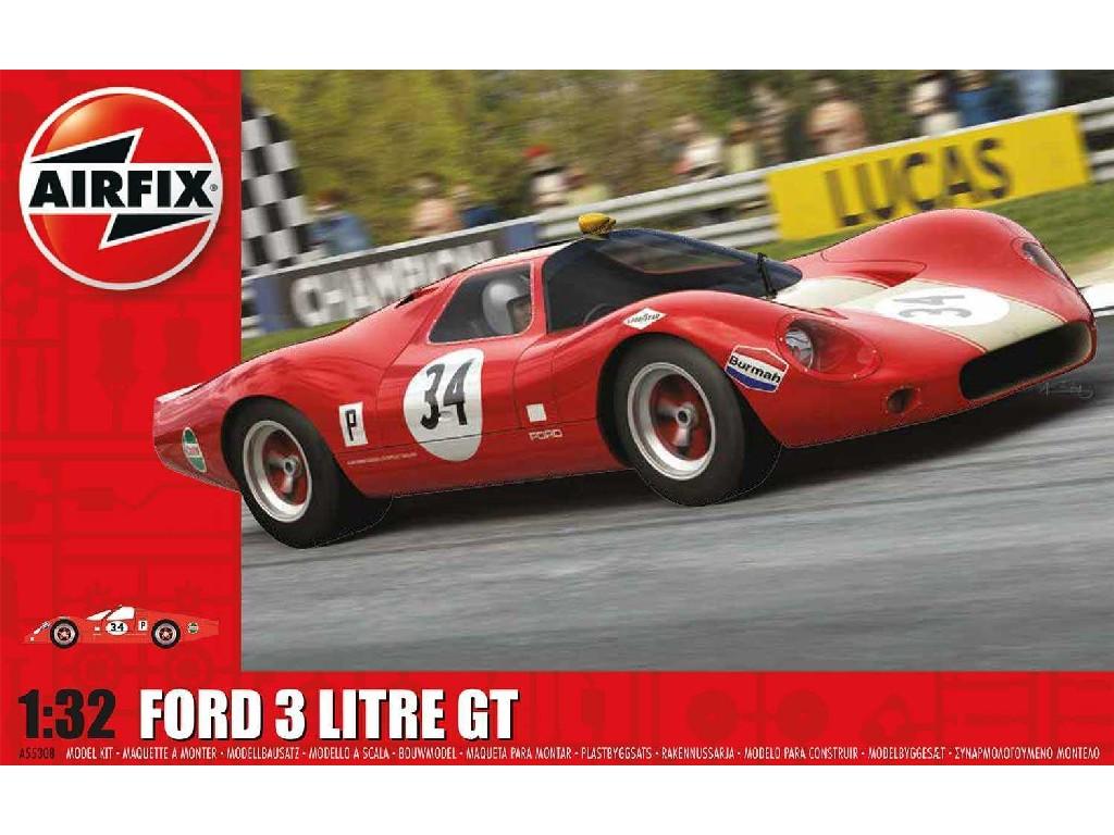 1/32 Starter Set auto A55308 - Ford 3 Litre GT