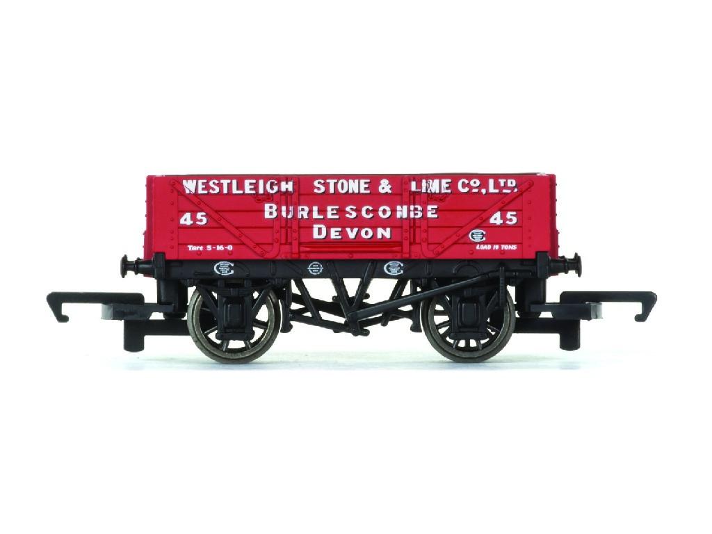 Vagón nákladní Hornby R6743 - 4 Plank Wagon Westleigh Stone & Lime Co. Ltd