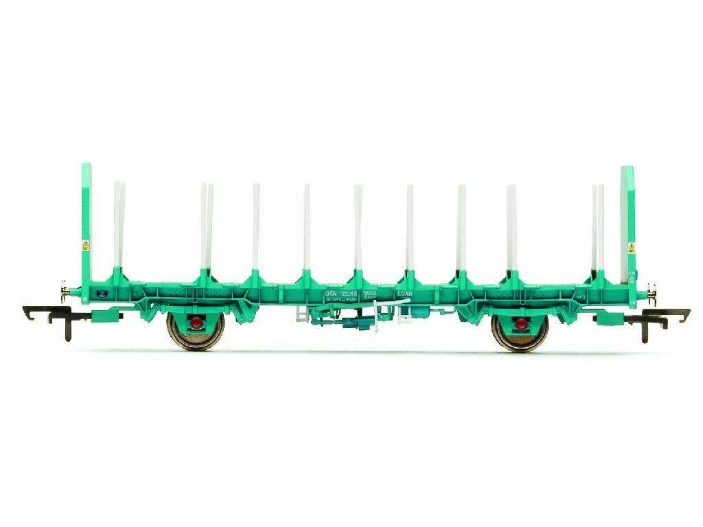 Vagón nákladní Hornby R6791 - OTA Timber Wagon Parallel Stanchions