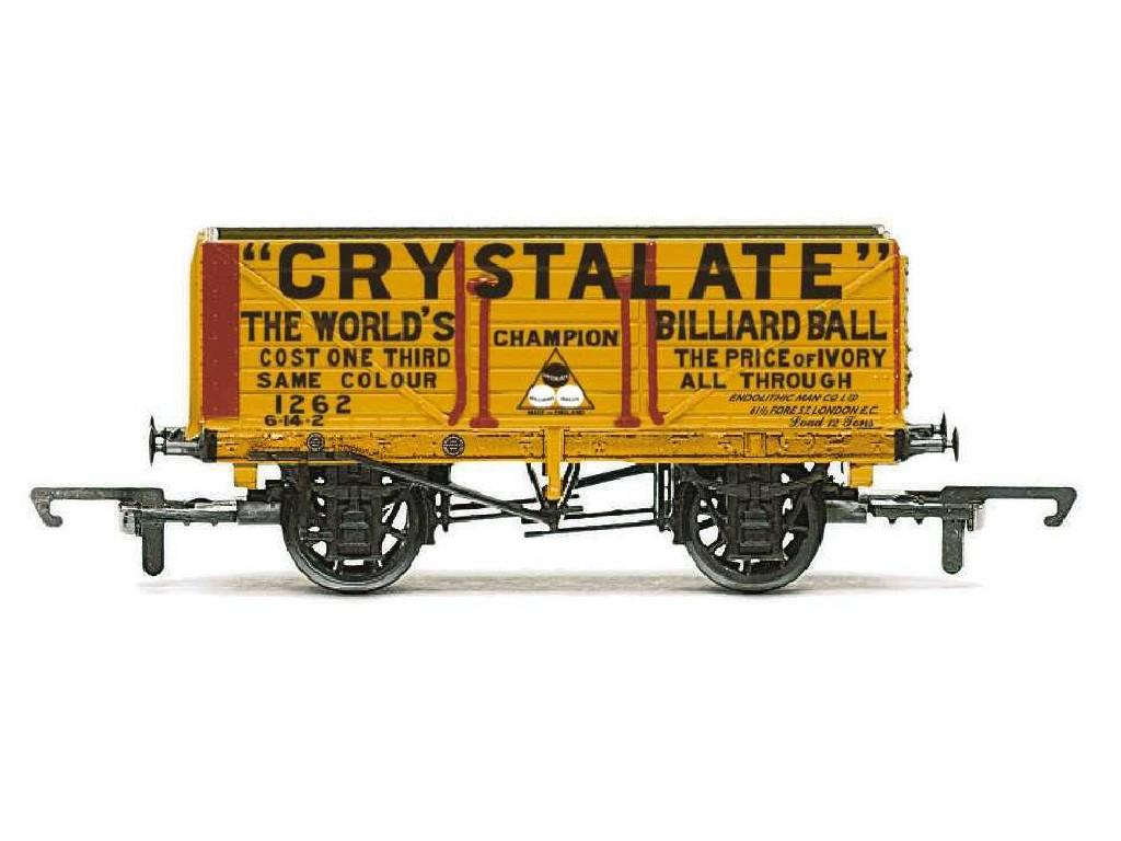Vagón nákladní Hornby R6810 - 7 Plank Wagon Crystalate