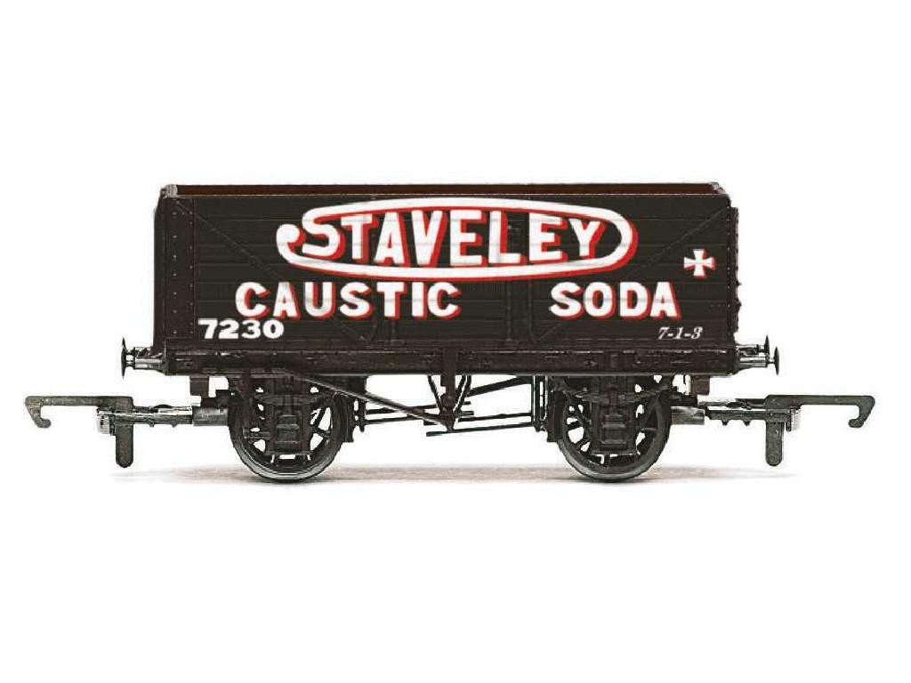 Vagón nákladní Hornby R6811 - 7 Plank Wagon Staveley