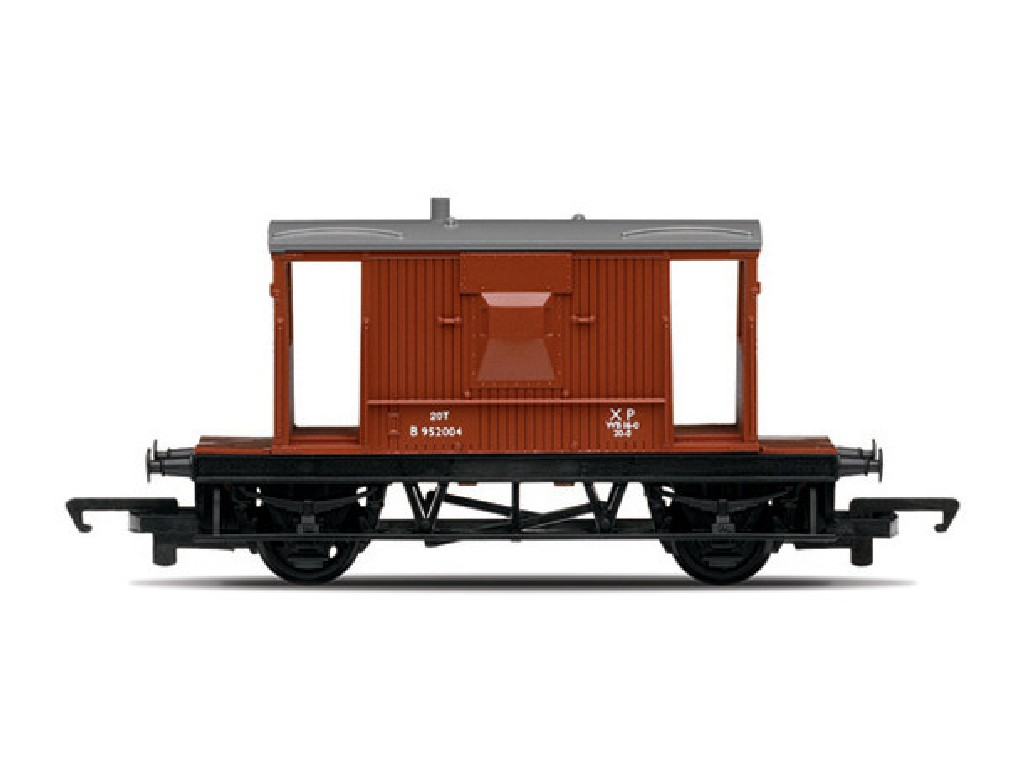 Vagón nákladní HORNBY RAILROAD R6368 - BR 20 Ton Brake Van