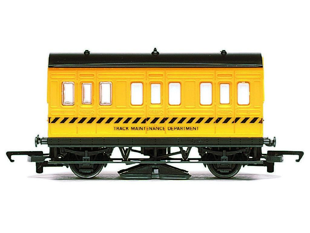 Vagón pro čistění tratě Hornby R296 - Track Cleaning Coach