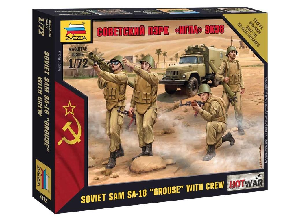 1/72 Wargames (HW) figurky 7412 - Soviet PZRK Igla 9K38