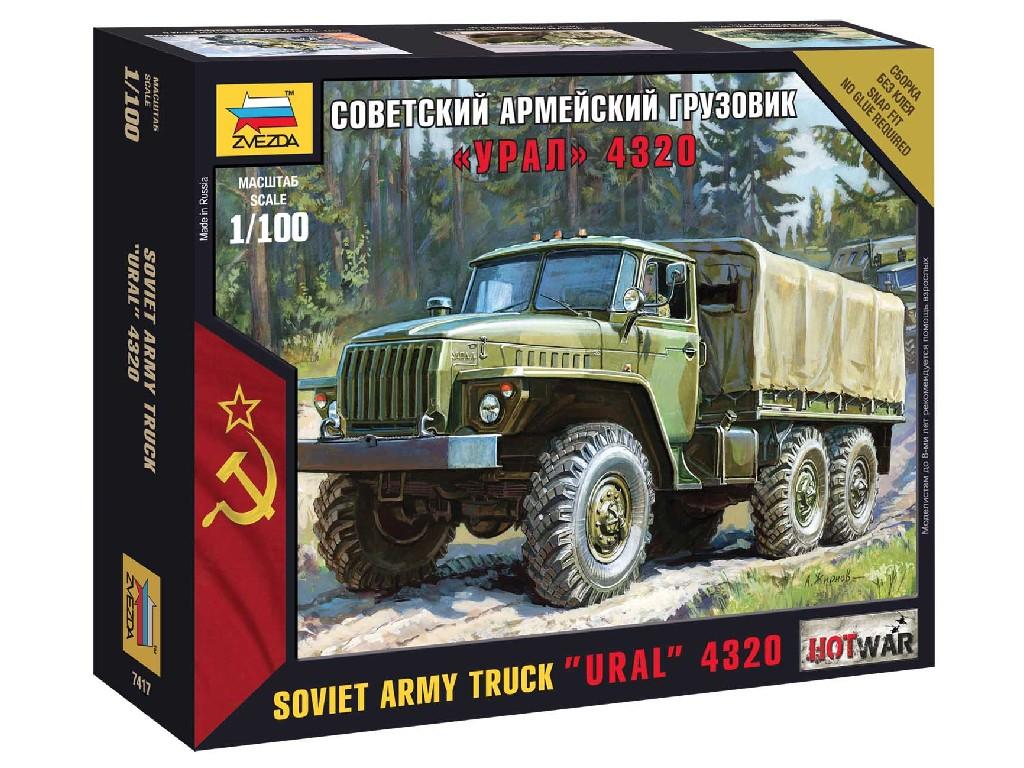 1/100 Wargames (HW) military 7417 - Ural truck