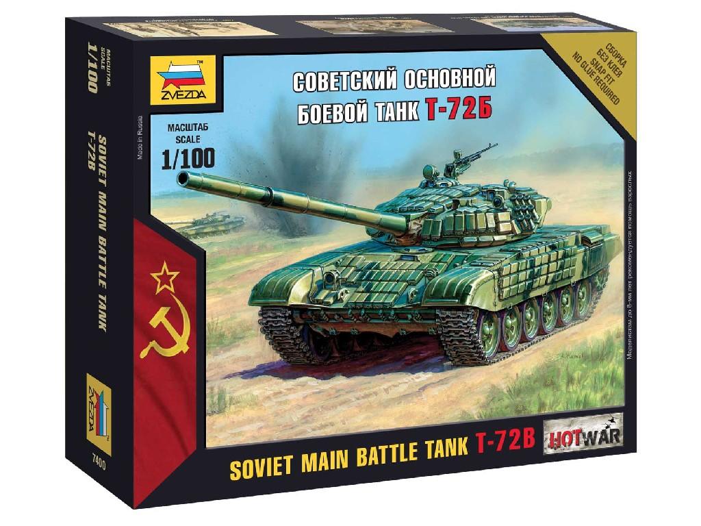 1/100 Wargames (HW) tank 7400 - T-72