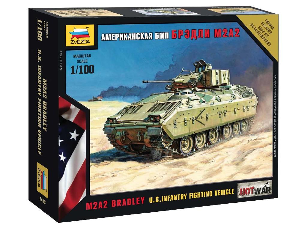 1/100 Wargames (HW) tank 7406 - Bradley