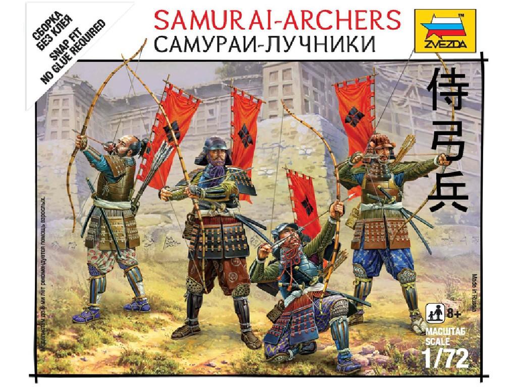 1/72 Wargames (SB) figurky 6404 - Samurai Archers