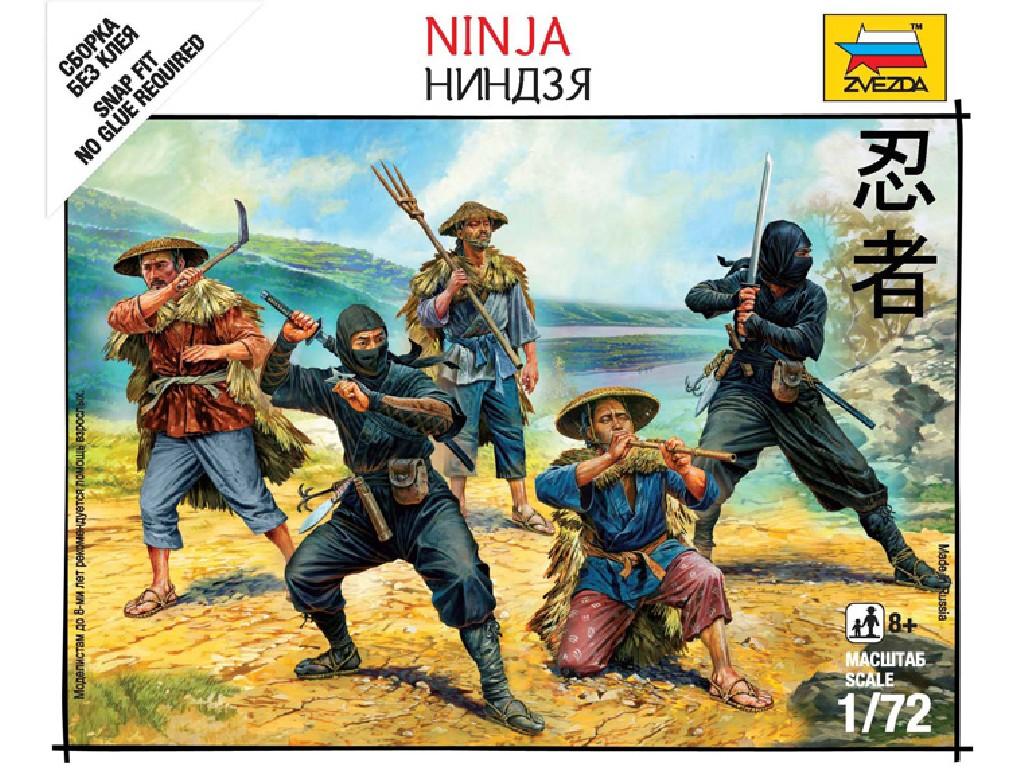 1/72 Wargames (SB) figurky 6406 - Ninja