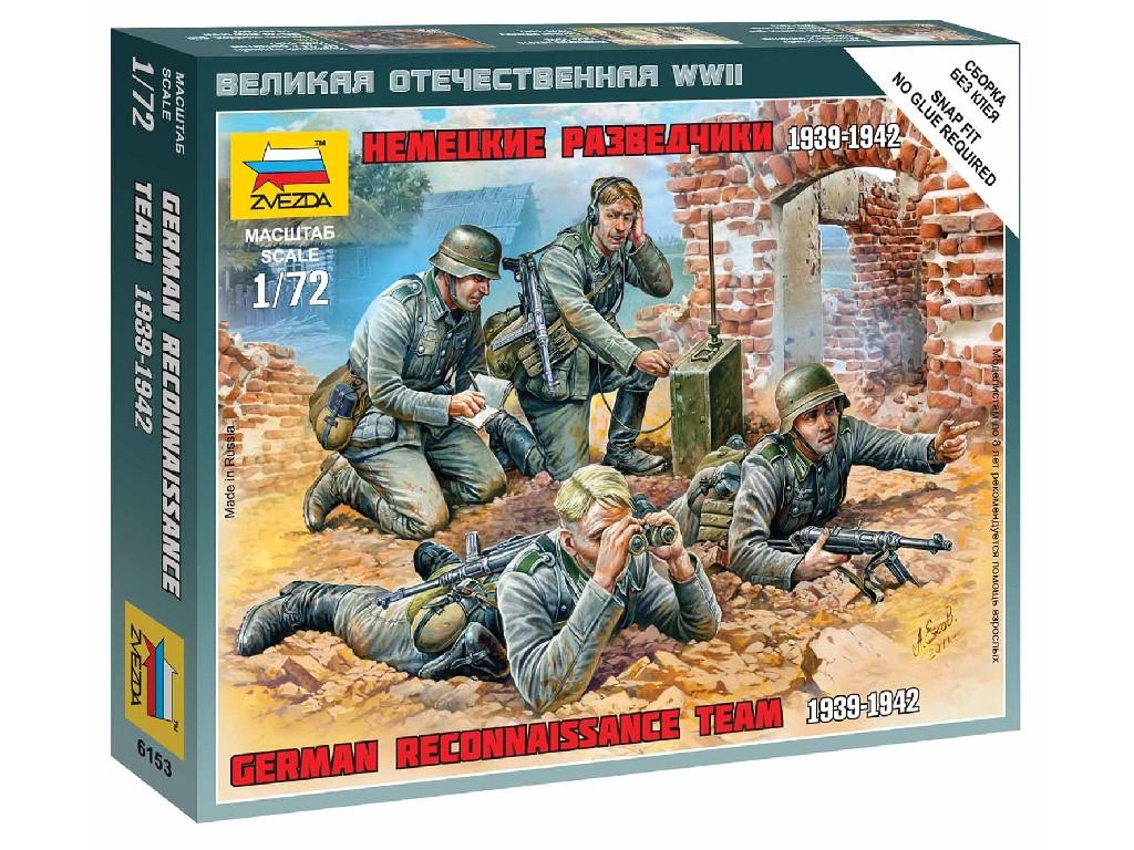 1/72 Wargames (WWII) figurky 6153 - German Reconnaissance Team