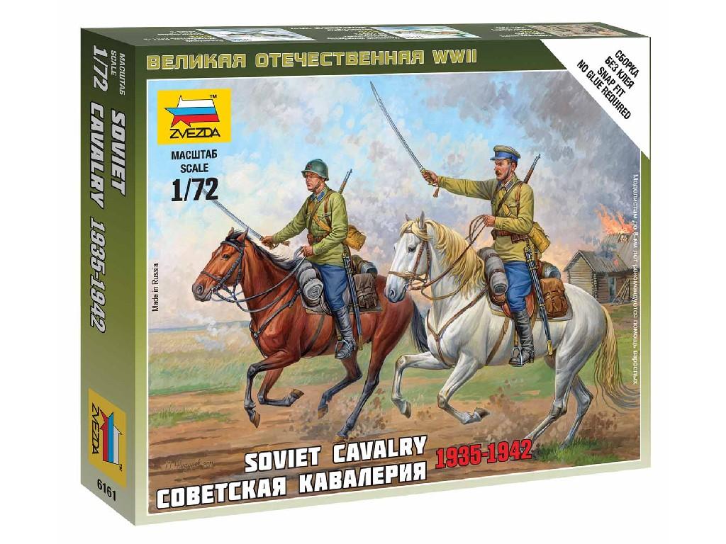 1/72 Wargames (WWII) figurky 6161 - Soviet Cavalry