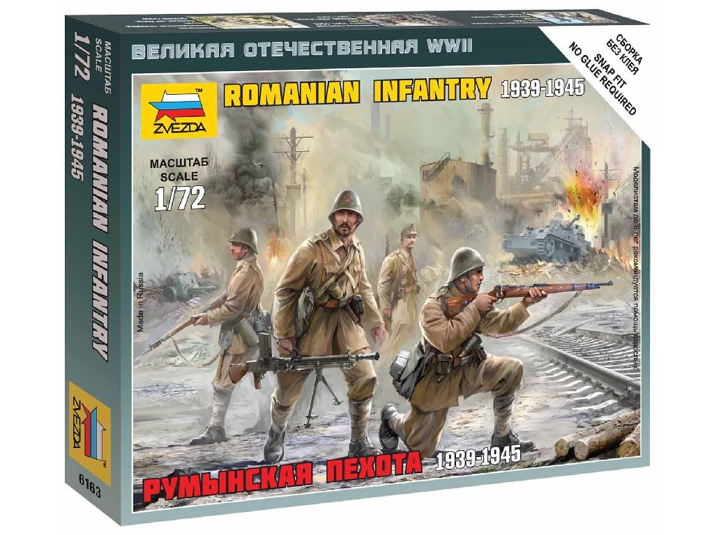 1/72 Wargames (WWII) figurky 6163 - Romanian Infantry