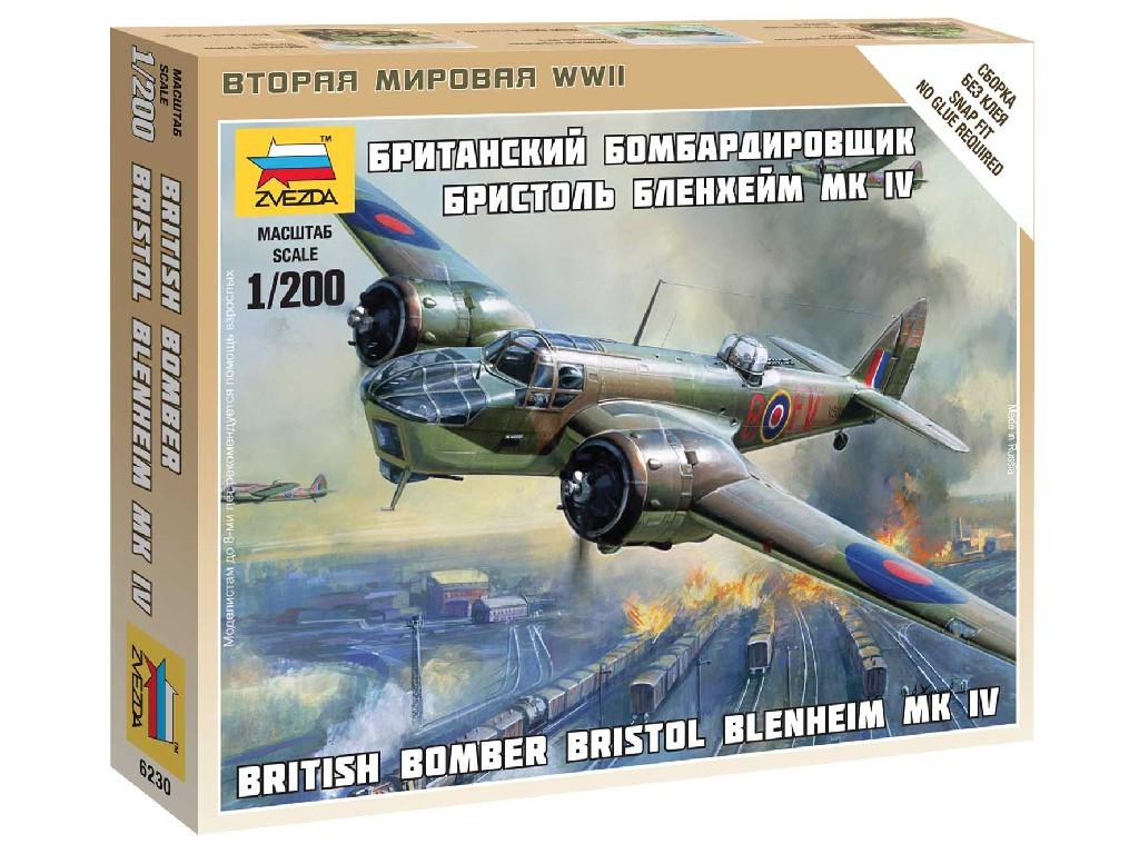 1/200 Wargames (WWII) letadlo 6230 - British Bomber Bristol Blenheim IV