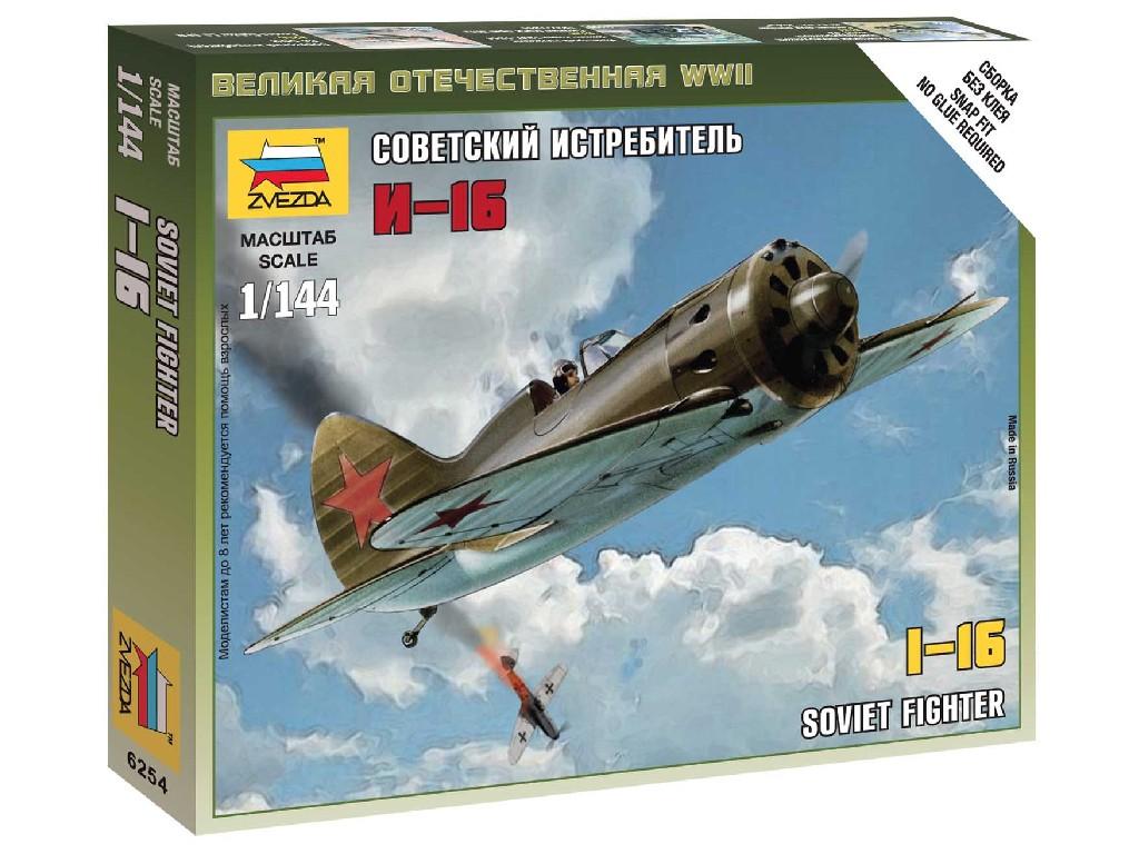 1/144 Wargames (WWII) letadlo 6254 - Polikarpov I-16