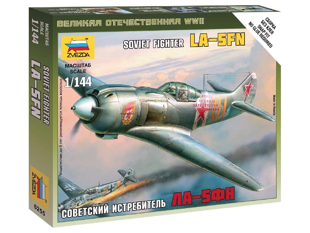 1/144 Wargames (WWII) letadlo 6255 - Lavočkin La-5