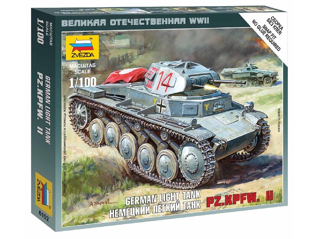 1/100 Wargames (WWII) tank 6102 - German Panzer II