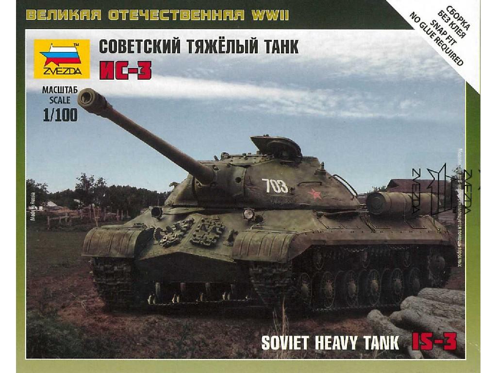 1/100 Wargames (WWII) tank 6194 - Soviet Tank IS-3