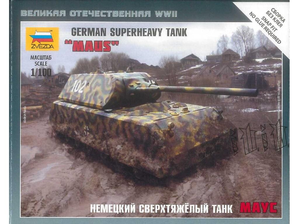 1/100 Wargames (WWII) tank 6213 - German Superheavy Tank Maus