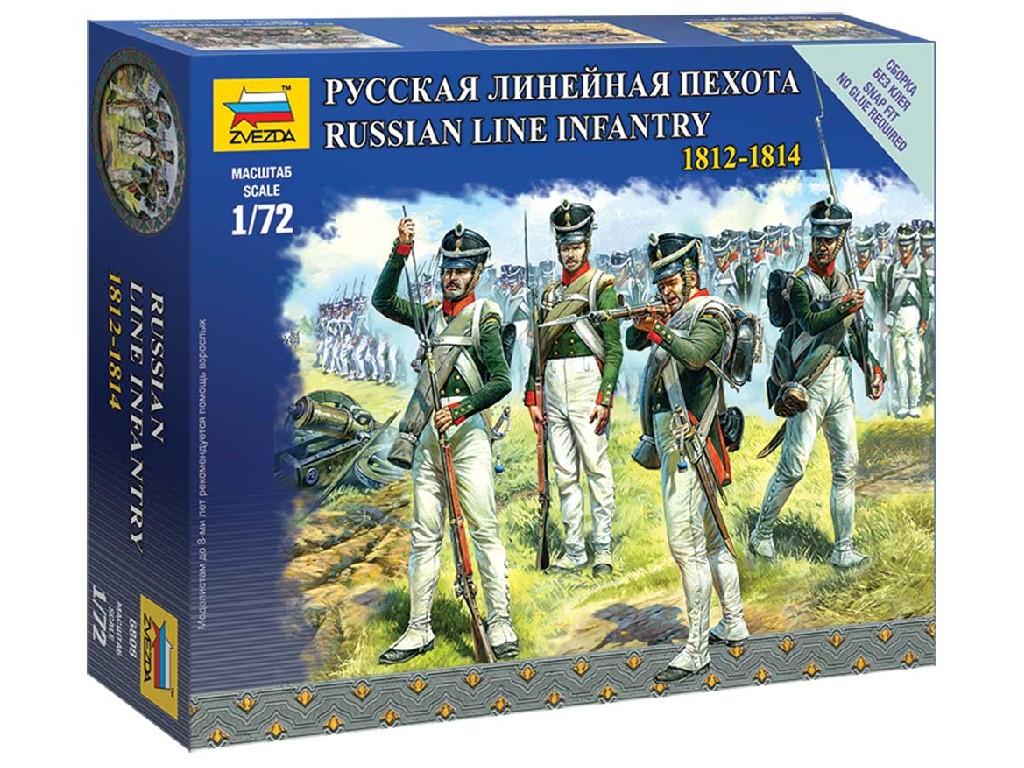 1/72 Wargames figurky 6808 - Russian Line Infantry