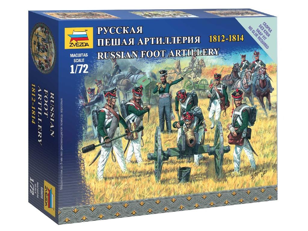 1/72 Wargames figurky 6809 - Russian Foot Artillery